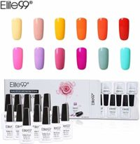 Elite99 Esmalte Semipermanente UV LED 12pcs Kit Uñas de Gel Pintauñas ...