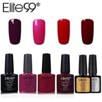 Elite99 Esmalte Semipermanente UV LED 6pcs Kit Uñas de Gel Pintauñas c...