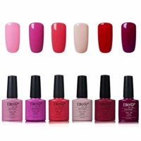 Elite99 Esmaltes Semipermanentes de Uñas en Gel UV LED, 6pcs Kit de Es...