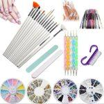 Kit de herramientas para manicura de uñas, pinceles para pintar uñas, ...