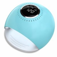 Lámpara LED UV Uñas - 84W Secador de Uñas con 5 segundos de secado rap...