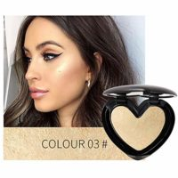 1PC Shimmer Highlighter iluminador en polvo impermeable Brighten Powde...