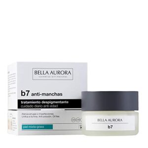 Bella Aurora B7 Crema Facial Hidratante de Mujer Anti-Edad y Anti-Manc...