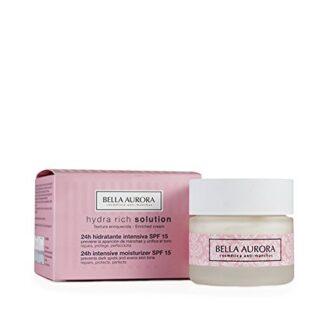 Bella Aurora Hydra Rich Solution Crema Facial 24H Hidratante Intensiva...