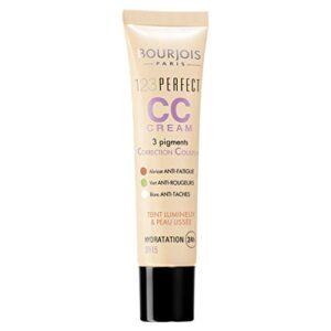 Bourjois - 123 Perfect CC Cream, crema correctora con color, tono ligh...