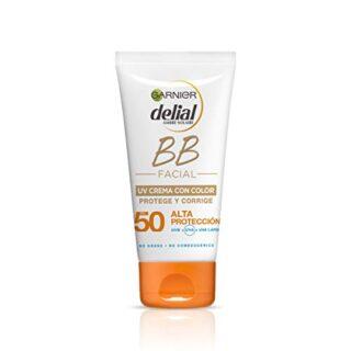 Garnier Delial BB Sun Crema Protector Solar con Color Especial Rostro ...