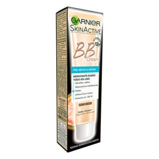 Garnier Skin Active BB Cream Matificante Crema Correctora y Anti Imper...