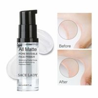 Hilai 1Bottle Foundation Primer de maquillaje Mattifying Pore Minimizi...