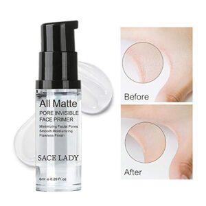 Hilai 1Bottle Foundation Primer de maquillaje Mattifying Pore Minimizi...