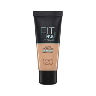 Maybelline New York - Fit Me, Base de Maquillaje Mate Afina Poros, Ton...