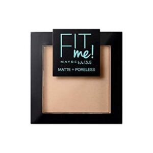Maybelline New York Polvos Compactos Matificantes Fit Me (Mate y Sin p...