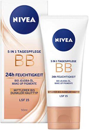 Nivea Diarios Esenciales BB Cream 5 en 1 Beautifying Crema hidratante ...