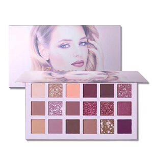 1Pack 18 colores paleta de sombra de ojos de alta pigmentado de ojos e...