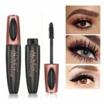 4D Silk Fiber Eyelash Mascara, Extra Long Lash Mascara Waterproof Not ...