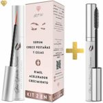 FORMULA ORIGINAL Crece pestañas 5ml + 10ml Mascara rimel, Kit serum pe...