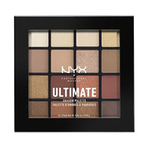 NYX Professional Makeup Paleta de sombra de ojos Ultimate Shadow Palet...
