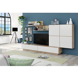 Habitdesign 026665F - Mueble de Comedor, Mueble Salon Moderno, Acabado...
