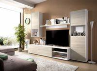 LIQUIDATODO ® - Salón modular 220 cm moderno y barato en gris y blanco...
