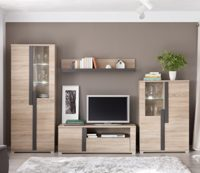 Mueble Modular Moderno de salón Link de 320 cm. formado por Mueble TV ...