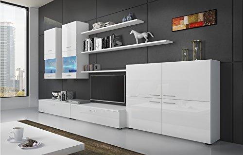 SelectionHome - Mueble Comedor Moderno, salón con Luces Leds, Acabado ...