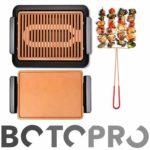 BOTOPRO - Parrilla Smokeless Grill + Plancha Gratis, Cocina y Asa en e...