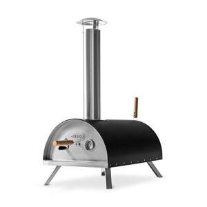 BURNHARD Horno para Pizzas Exterior de Acero Inoxidable Nero, Incluye ...