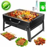 FishOaky Campingaz Barbacoa Portatil, Set Barbacoa Plegable, BBQ Grill...