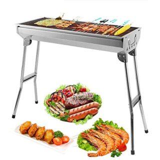 Mbuynow Barbacoa de Carbón, BBQ Gran Tamaño para la Fiesta BBQ de Fami...