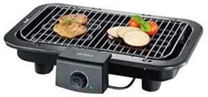 Severin Barbacoa Grill PG 8518 - Barbacoa de Mesa, Superficie de Grill...