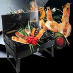 Vinteky® BBQ Barbacoa portátil, barbacoa de viaje, de pícnic, camping,...