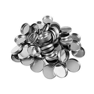 Allwon 56 Pack de sartenes metálicas redondas vacías para la paleta de...