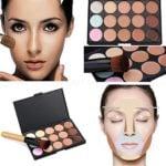 Boolavard 15 color corrector paleta Kit cepillo gratis maquillaje cont...