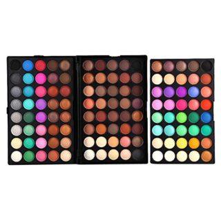 Filfeel Paleta de sombra de ojos, 120 colores Profesional Shimmer Ojos...