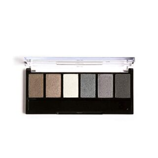 Filfeel Paleta de sombras de ojos, 6 colores Cosmético Shimmer Maquill...