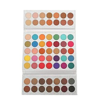 HaiQianXin Beauty Glazed 63 Colors Pearlescent Matte Eyeshadow Eye Cos...