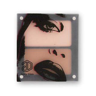 Jolly Dim Makeup - Set contorno e iluminador. Iluminador y polvos bron...
