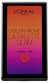 L'Oreal Paris Paleta de Labios La Palette Glam