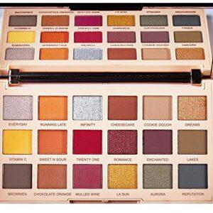 Makeup Revolution Soph X Ultra Eyeshadows Extra Spice Paleta 18 cieni ...