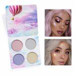 Maquillaje Highlighter Face Contour Glitter Paleta de sombras de ojos ...
