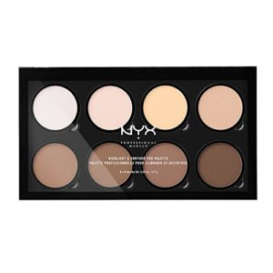 NYX Professional Makeup Paleta de contouring Highlight & Contour Pro P...