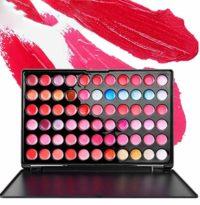 Pure Vie® 66 Colores Brillo de Labios Paleta de Maquillaje Cosmética -...