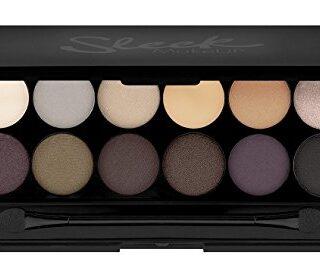 Sleek MakeUP iDivine - Paleta de sombra de ojos Au Naturel con espejo,...