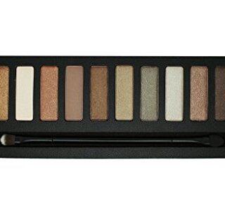 W7 Colour me Buff - Paleta de 12 Sombras de Ojos, Tono Natural