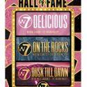 W7 Hall of Fame - Set de regalo