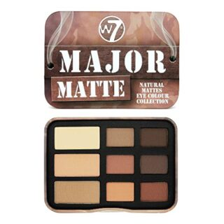 W7 grandes mate Natural Ojo Color Collection, 10 g