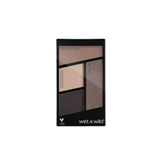 Wet n Wild Color Icon Eyeshadow Quads (Silent Treatment) - Paleta de S...