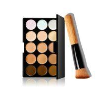 lumanuby belleza cosméticos cubierta crema corrector contorno Maquilla...
