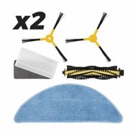 IKOHS Pack Repuestos 2 x (Cepillo Derecho + Cepillo Izquierdo + Rodill...