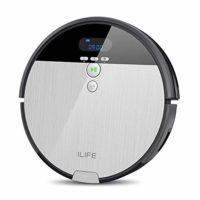 ILIFE ILIFE V8s - Robot Aspirador, Color Plateado y Gris