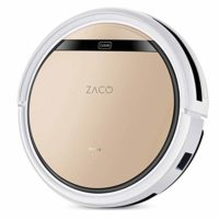 ZACO V5sPro Robot aspirador con función de limpieza, robot aspirador a...